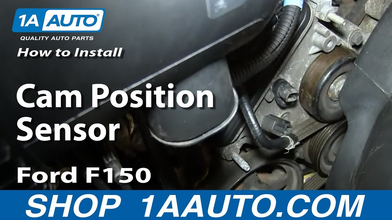 how to install replace cam position sensor 4 6l v8 ford
