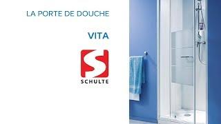 Porte de douche pivotante Vita SCHULTE - Castorama