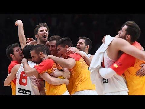 Baloncesto: Post España-Grecia