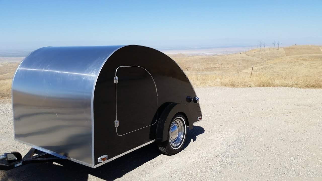 Aluminum Teardrop Trailers : Project grizzly building a teardrop trailer aluminum