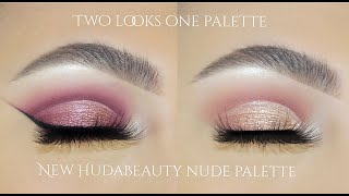 New HudaBeauty Nude Palette I Two Looks + Giveaway Winner Announced!   Sofie Bella