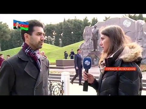CBC Azerbaijan Online Rufat Aliyev about Heydar Aliyev and İlham Aliyev