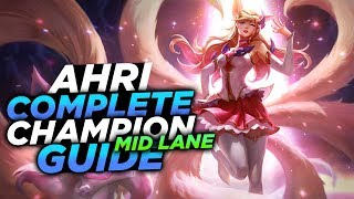 GLACIAL AUGMENT AHRI IS BUSTED!! - SEASON 8 AHRI GUIDE! - League of Legends