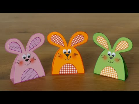 hasen rabbits aus papier basteln mit kindern youtube. Black Bedroom Furniture Sets. Home Design Ideas
