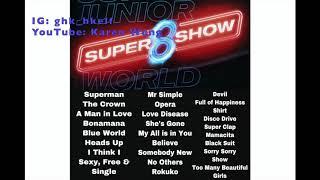 Super Junior Super Show 8 Songs Playlist MP3