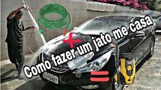 COMO FAZER UMA MANGUEIRA DE ALTA PRESSÃO COM 5 REAIS