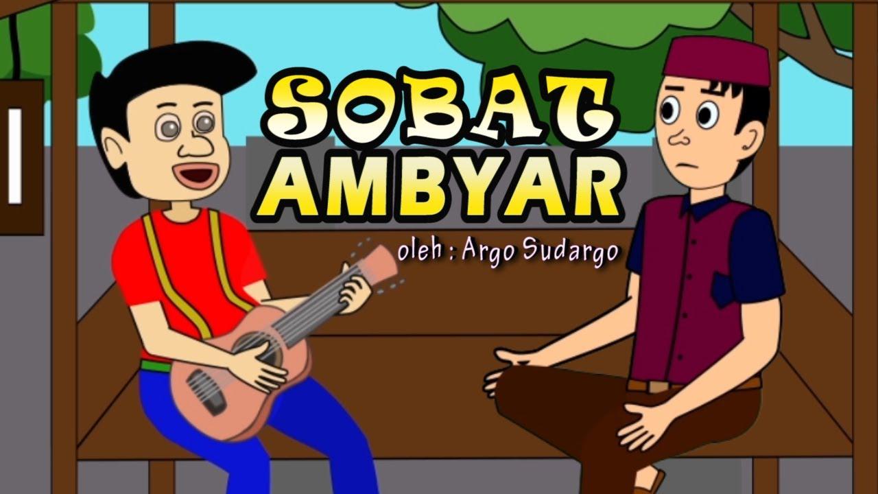 Dobleh Sobat Ambyar Didi Kempot Kartun Lucu Youtube