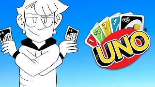 Uno Random Moments #3 - Threatening Grayson with plus fours!