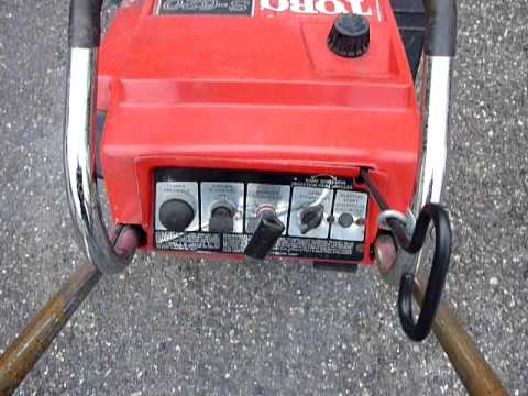 toro s 620 snowblower demo youtube rh youtube com Toro S200 User Manual Toro 521 Snowblower Manual