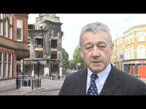 BBC News at Ten - UK Riots 08-08-2011