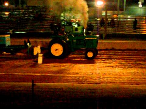 Jason pulling the 4520 At Lebanon Fair 2011
