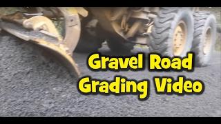 Gravel Road Grading