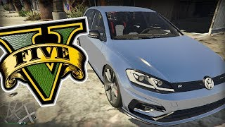 ACELEREI FORTE O GOLF 7.5R TURBO! | GTA V | Z7PLAY