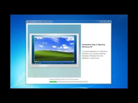 Windows XP Mode RC