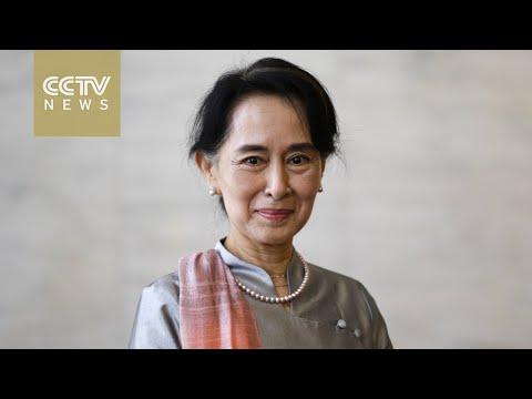 Suu Kyi: Myanmar democracy 'an ongoing process'