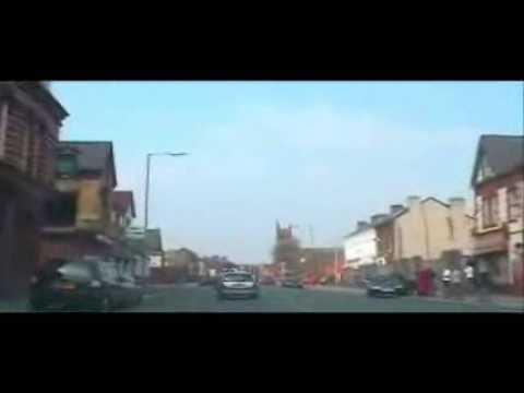 Edge Lane drive before  it was demolished  2004