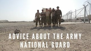 Things you should know before joining the Army National Guard