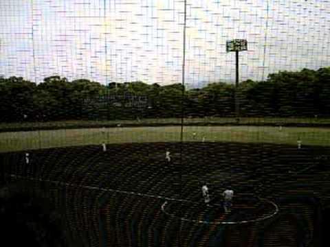 2008高校野球春季奈良県大会_一条対郡山10