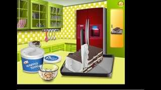 Кухня Сары Торт Мороженное готовим еду Ice Cream Sandwich Cake