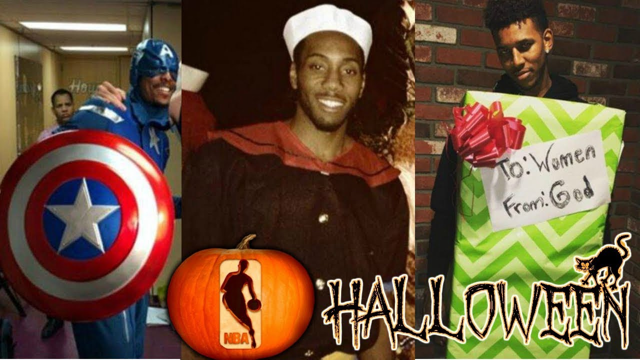 HALLOWEEN COSTUMES FROM NBA PLAYERS OVER THE YEARS!