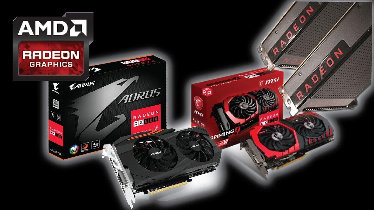AMD Radeon RX 580 Graphics Cards!