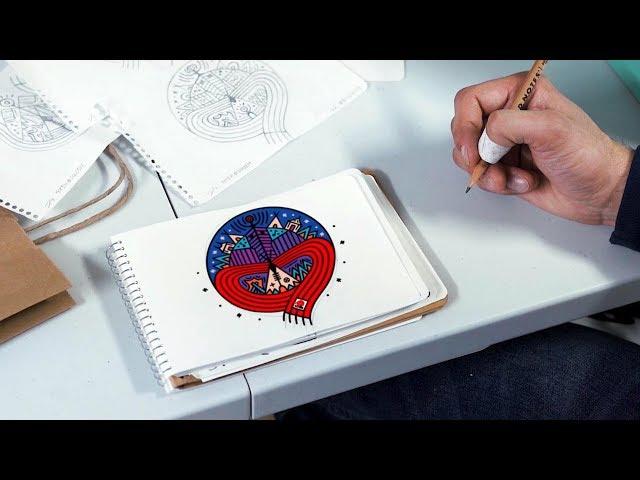 Oji-Cree artist explains new Festival du Voyageur logo