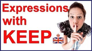 Baixar English expressions with KEEP - English vocabulary lesson