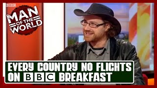 Graham Hughes on BBC Breakfast | Every Country Without Flying