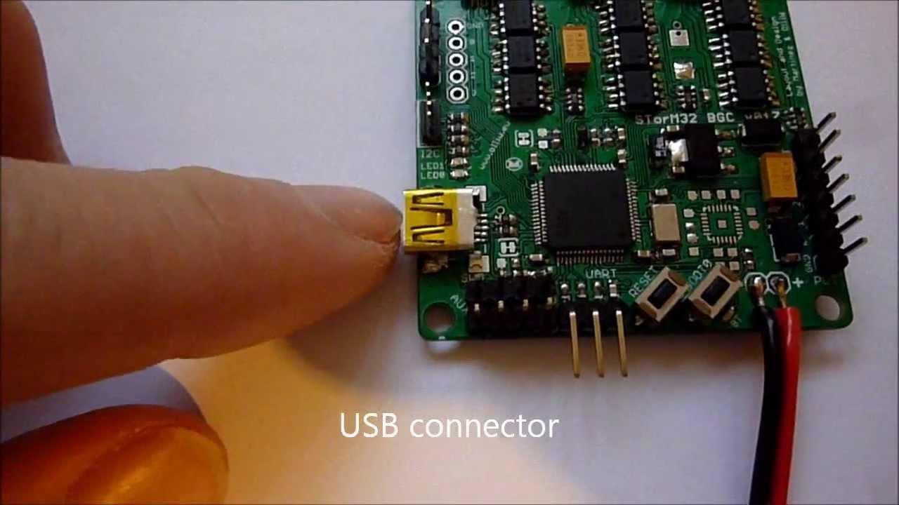 Storm32 Bgc 32 Bit 3 Axis Brushless Gimbal Controller Youtube Naza V2 Wiring Diagram