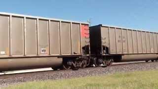 UP 5964 leads a ETRX S/B coal train Vinita Okla.