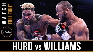 Hurd vs Williams FULL FIGHT: May 11, 2019 - PBC on FOX