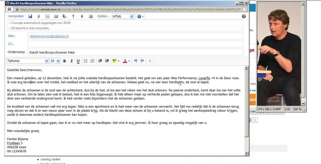 Uitleg klachten e mail mavo 3   YouTube