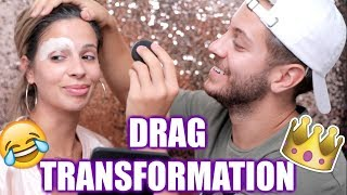 MY HUSBAND TURNS ME INTO A DRAG QUEEN!