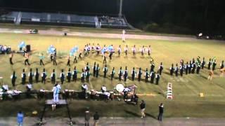 Coastal Carolina University Marching Band 2012 St. James exhibition