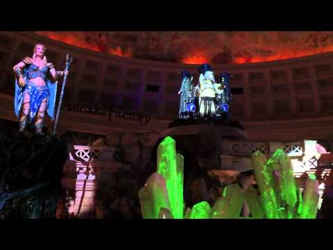 Fall of Atlantis Show Forum Shops Caesar's Palace Las Vegas