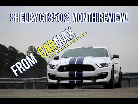 Shelby GT350 From Carmax 2 Month Review!
