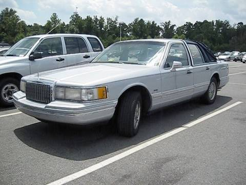 1993 Lincoln Town Car W 289k Miles Start Up Dual Exhaust And In