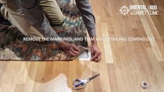 How to Install an Area Rug Pad