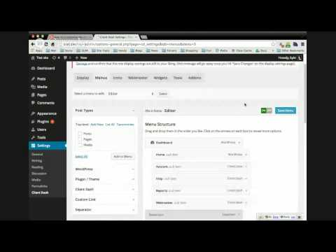 How To Customize the WordPress Admin Menu