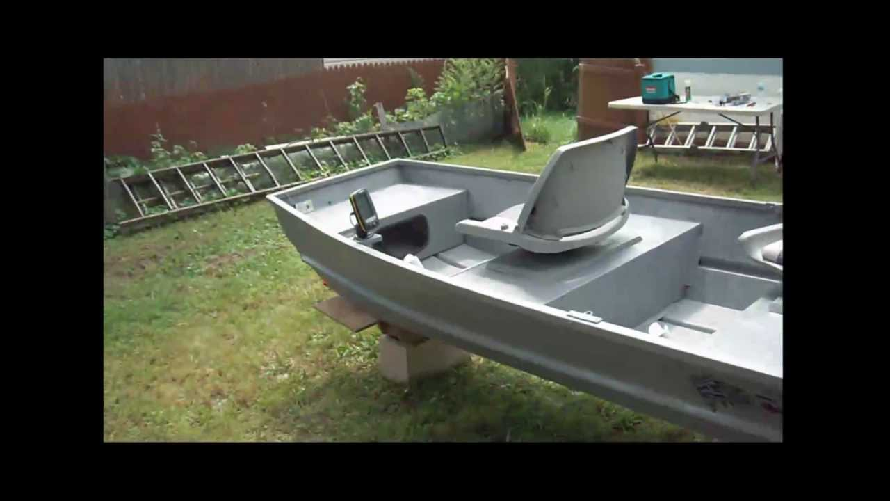 10 ft Jon Boat  YouTube