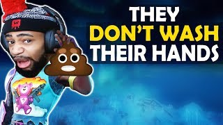 WHEN THEY DON'T WASH THEIR HANDS... | HIGH KILL FUNNY GAME - (Fortnite Battle Royale)