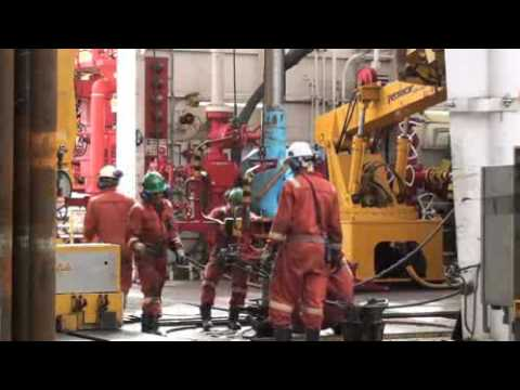 Riser drilling of Nankai Trough earthquake zone