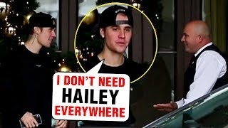 Justin Bieber LEAVES Hailey Baldwin FIGHTS With Guard and Roams About Beverly Hills