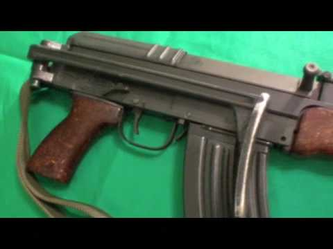 SA Vz58 semi-auto rifle