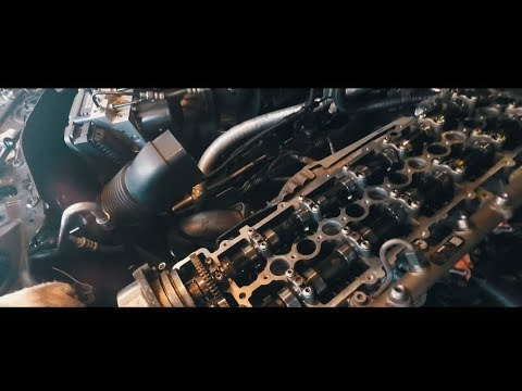 BMW E60 Рукожопы в сервисе!!! Замена прокладки клапанной крышки. Замена ГРМ М57