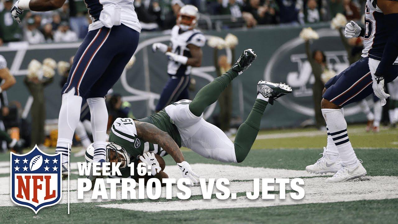 newest 4a7bc c31ec Brandon Marshall Makes Spectacular TD Catch | Patriots vs. Jets | NFL