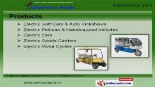 Electric Handicap Scooters by Unicorn Digital Systems Pvt. Ltd., Mumbai