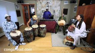 Africa Forestdance perform Sosisa