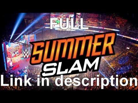 WWE Summerslam 2016 / Full Show - [Torrent...