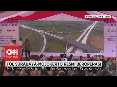 Tol Surabaya - Mojokerto atau Tol Sumo Resmi Beroperasi